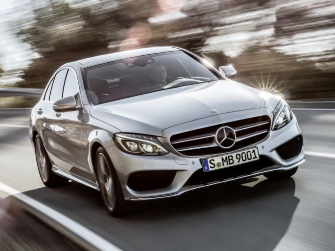 2014 Mercedes Benz C250 AMG Line (W205) luxury g wallpaper