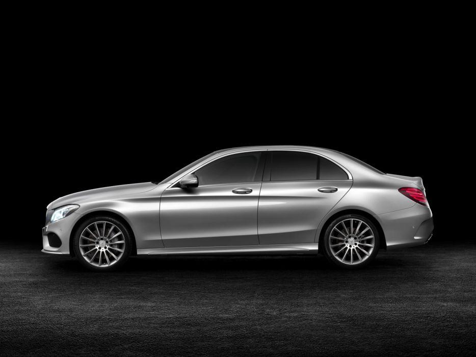 2014 Mercedes Benz C250 AMG Line (W205) luxury      g wallpaper