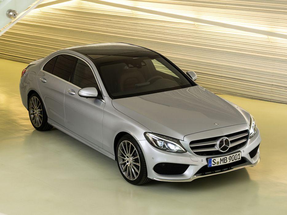 2014 Mercedes Benz C250 AMG Line (W205) luxury   gs wallpaper