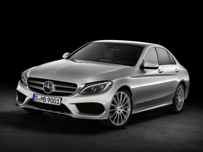 2014 Mercedes Benz C250 AMG Line (W205) luxury hd wallpaper