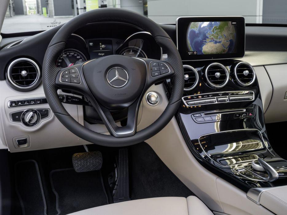 2014 Mercedes Benz C250 BlueTec (W205) luxury interior         g wallpaper