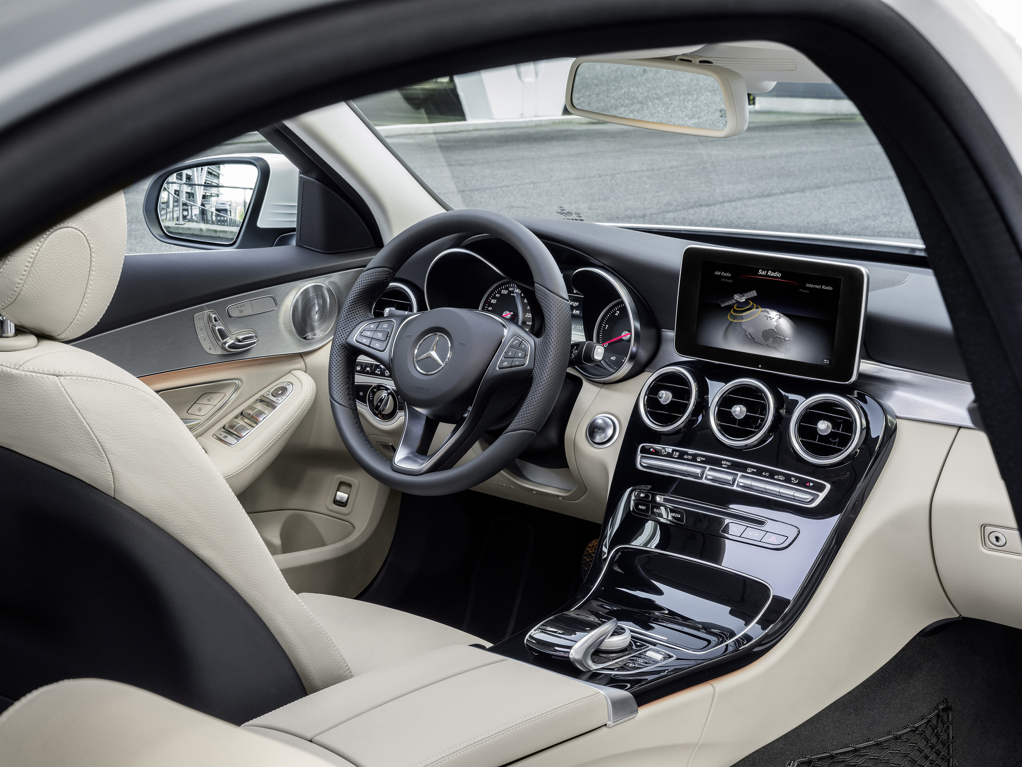 2014 mercedes benz c250 bluetec w205 luxury interior h for Interior mercedes clase c