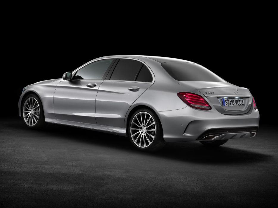 2014 Mercedes Benz C250 AMG Line (W205) luxury f wallpaper