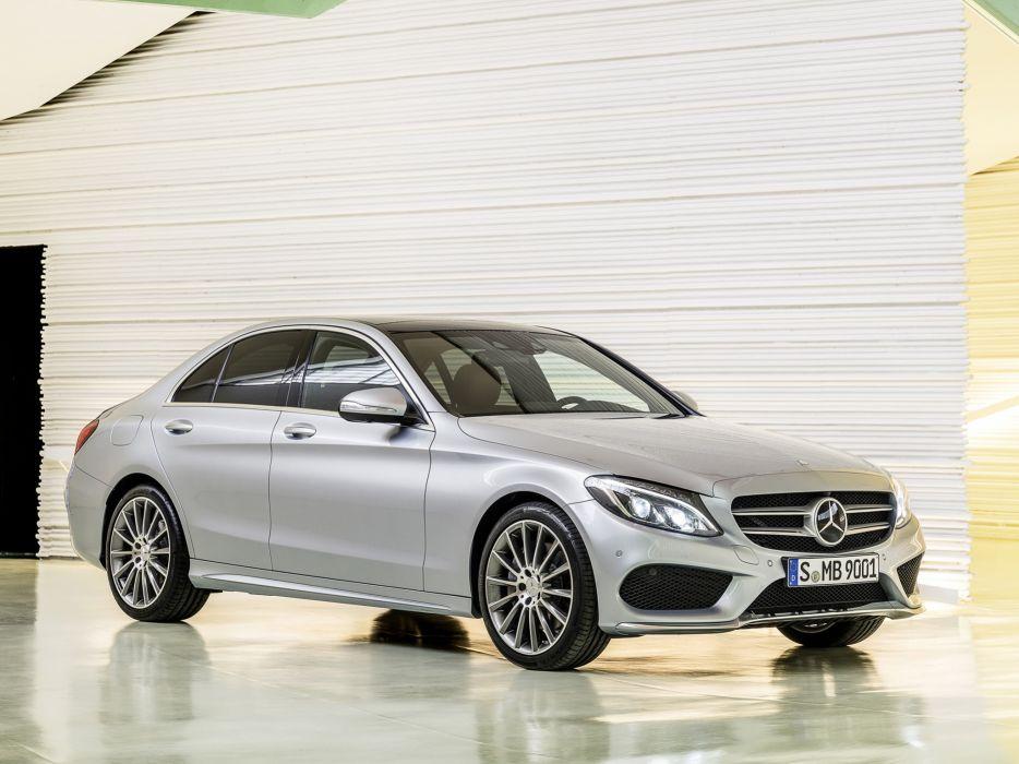 2014 Mercedes Benz C250 AMG Line (W205) luxury h wallpaper
