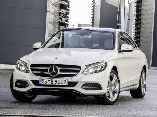 2014 Mercedes Benz C250 BlueTec (W205) luxury hg wallpaper