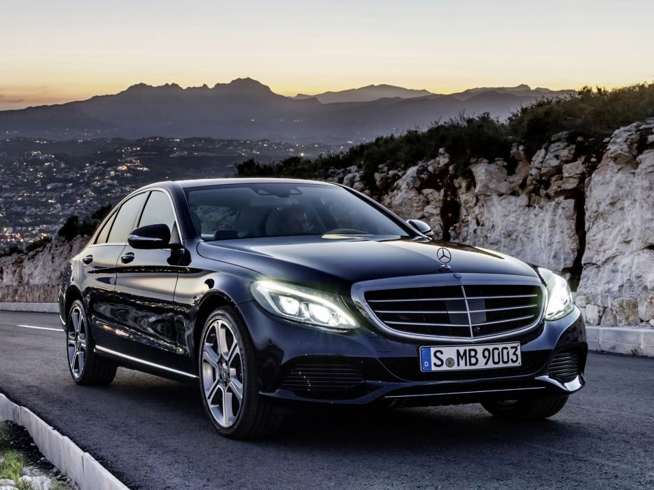 2014 Mercedes Benz C300 BlueTec Hybrid Exclusive-Line (W205) luxury d wallpaper