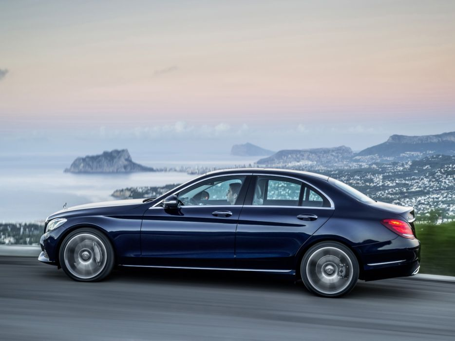 2014 Mercedes Benz C300 BlueTec Hybrid Exclusive-Line (W205) luxury  e wallpaper