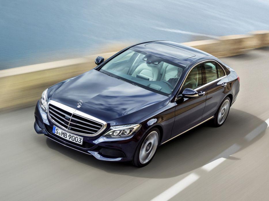 2014 Mercedes Benz C300 BlueTec Hybrid Exclusive-Line (W205) luxury  da wallpaper