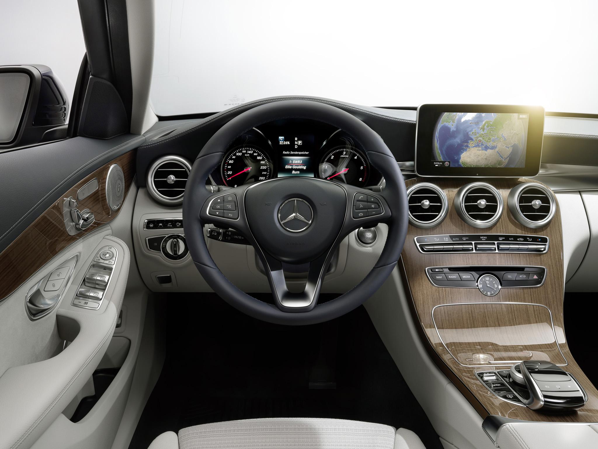 2014 mercedes benz c300 bluetec hybrid exclusive line w205 luxury interior f wallpaper 2048x1536 197960 wallpaperup - Mercedes Benz 2014 Interior