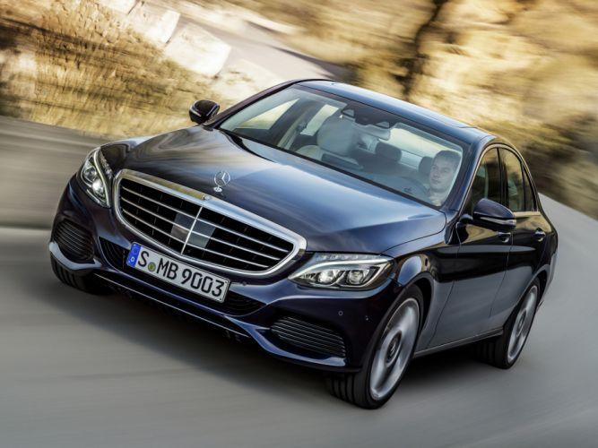 2014 Mercedes Benz C300 BlueTec Hybrid Exclusive-Line (W205) luxury d wallpaper