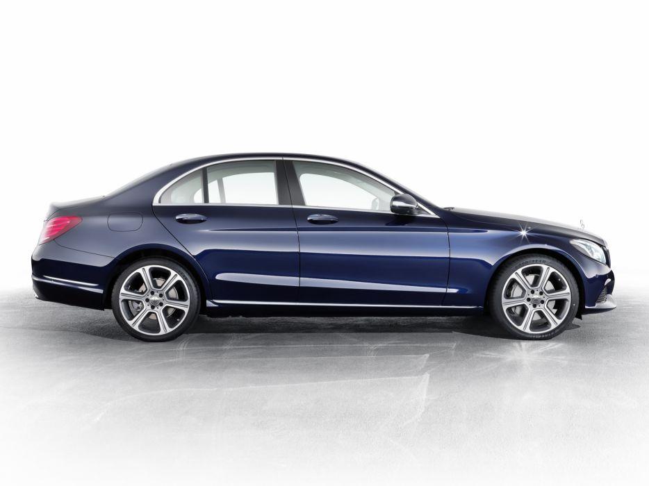 2014 Mercedes Benz C300 BlueTec Hybrid Exclusive-Line (W205) luxury   dq wallpaper