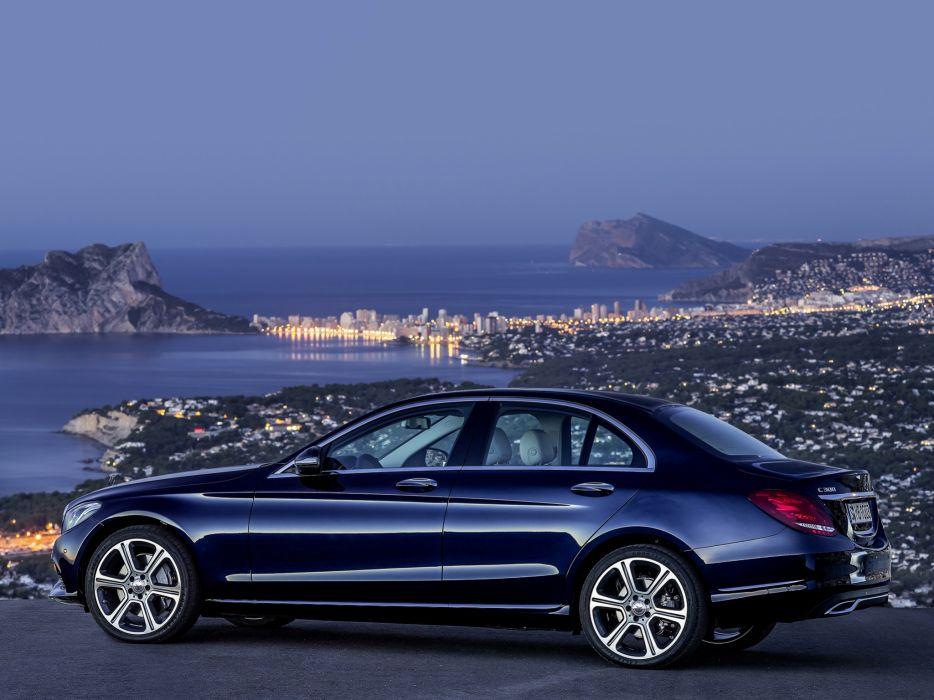 2014 Mercedes Benz C300 BlueTec Hybrid Exclusive-Line (W205) luxury   f wallpaper