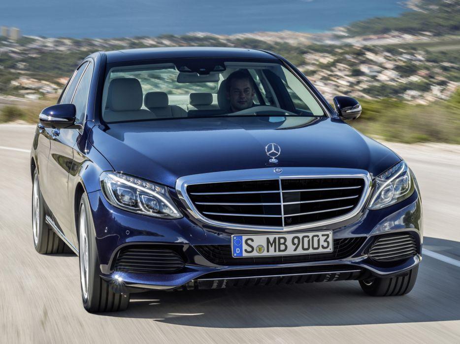 2014 Mercedes Benz C300 BlueTec Hybrid Exclusive-Line (W205) luxury   g wallpaper