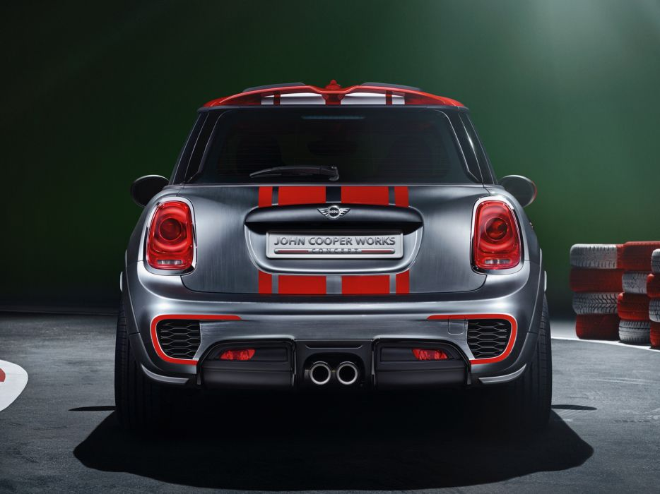 2014 Mini John Cooper Works Concept (F56)  g wallpaper