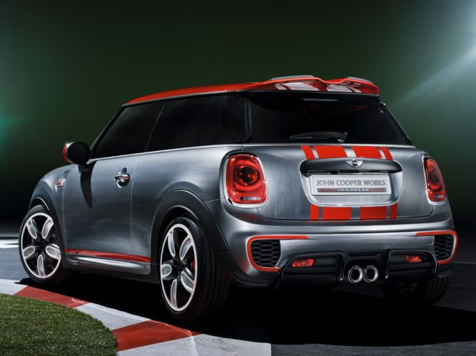 2014 Mini John Cooper Works Concept (F56) y wallpaper