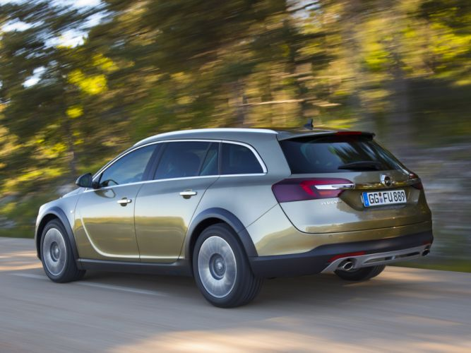 2014 Opel Insignia Country Tourer stationwagon ds wallpaper