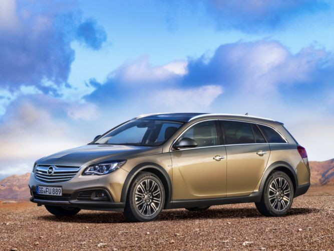 2014 Opel Insignia Country Tourer stationwagon gs wallpaper