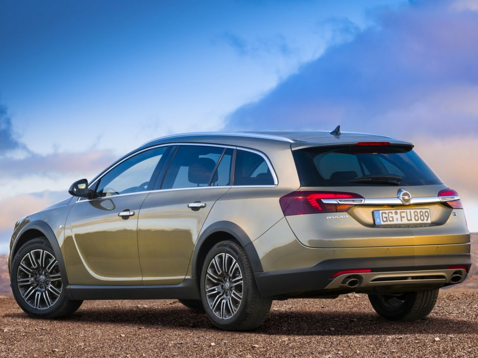 2014 Opel Insignia Country Tourer stationwagon  d wallpaper