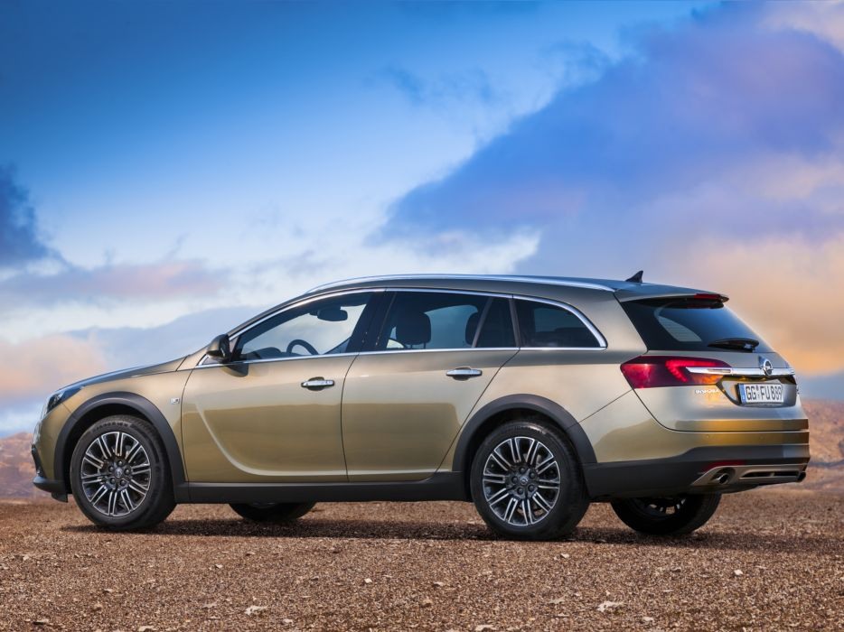 2014 Opel Insignia Country Tourer stationwagon  dw wallpaper