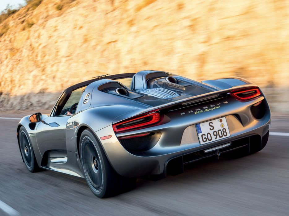 2014 Porsche 918 Spyder US Spec G Wallpaper