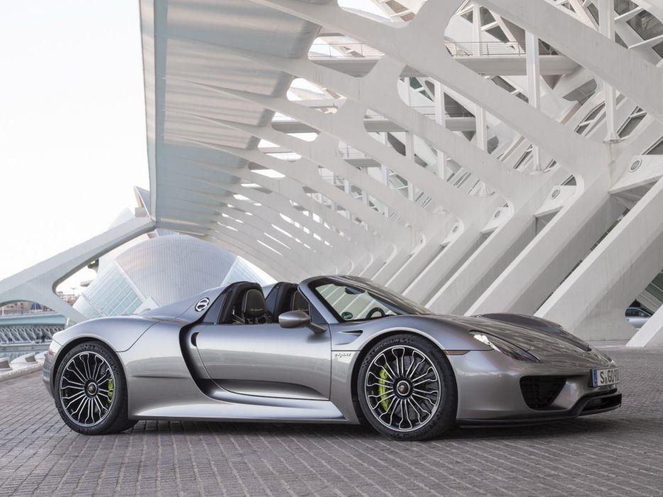 2014 Porsche 918 Spyder US-spec  f wallpaper