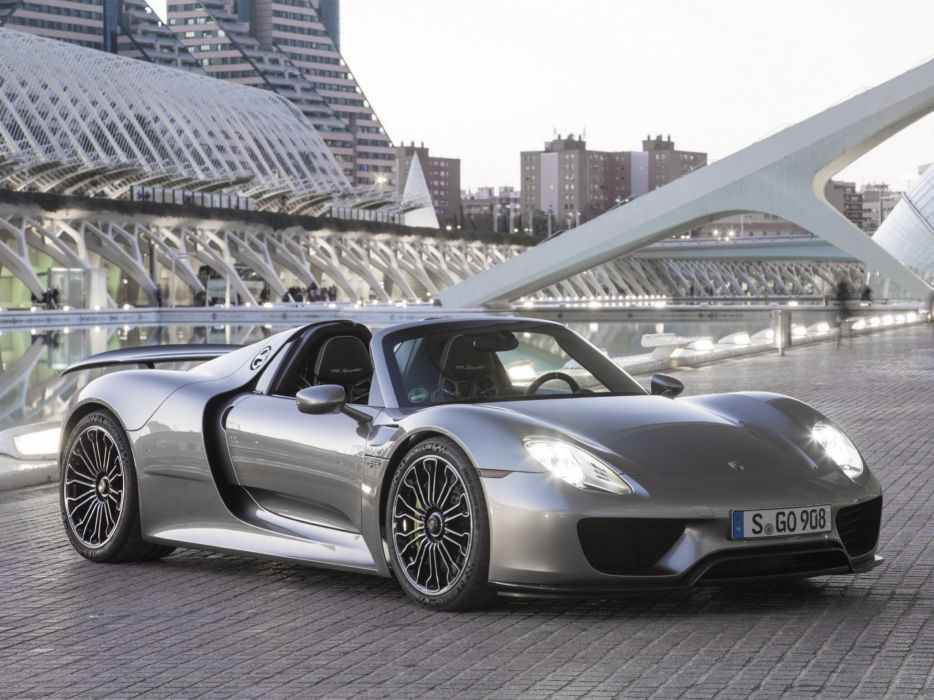 2014 Porsche 918 Spyder US-spec f wallpaper