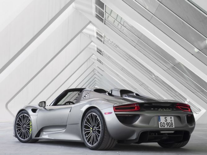2014 Porsche 918 Spyder US-spec fa wallpaper