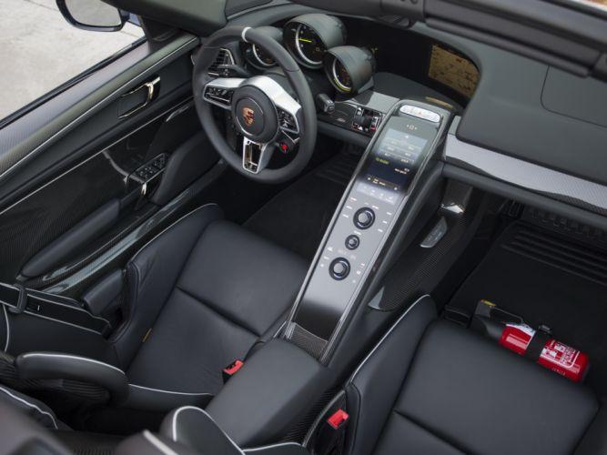 2014 Porsche 918 Spyder US-spec interior h wallpaper