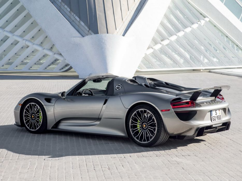 2014 Porsche 918 Spyder US Spec B Wallpaper