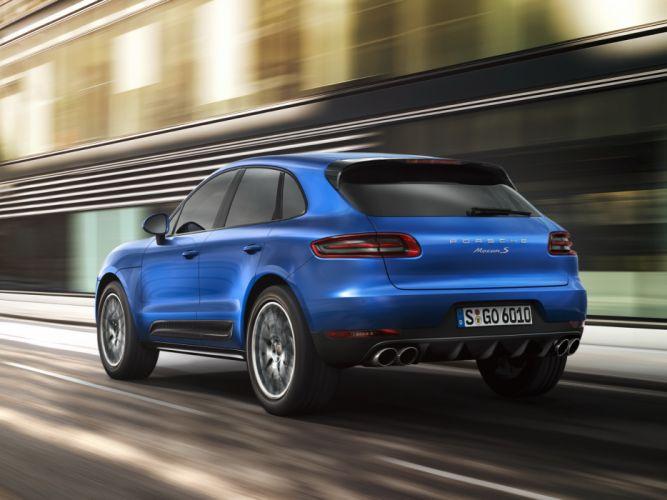 2014 Porsche Macan S Macan-S e wallpaper