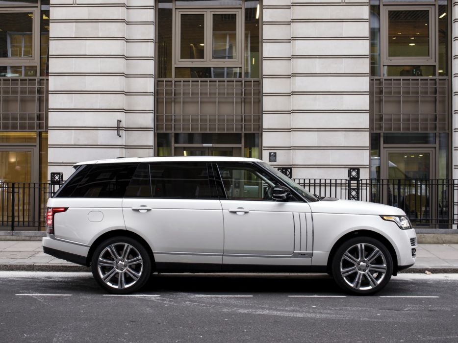 2014 Range Rover Autobiography Black LWB UK-spec (L405) suv        g wallpaper