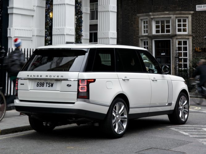 2014 Range Rover Autobiography Black LWB UK-spec (L405) suv g wallpaper