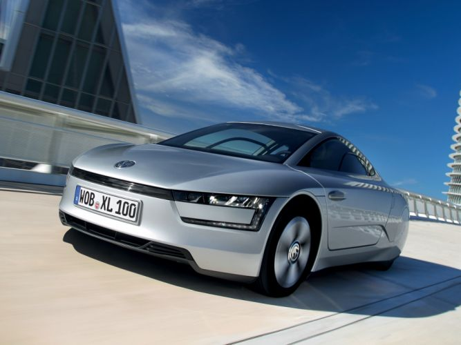 2014 Volkswagen XL1 ra wallpaper