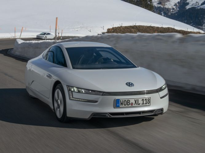 2014 Volkswagen XL1 da wallpaper