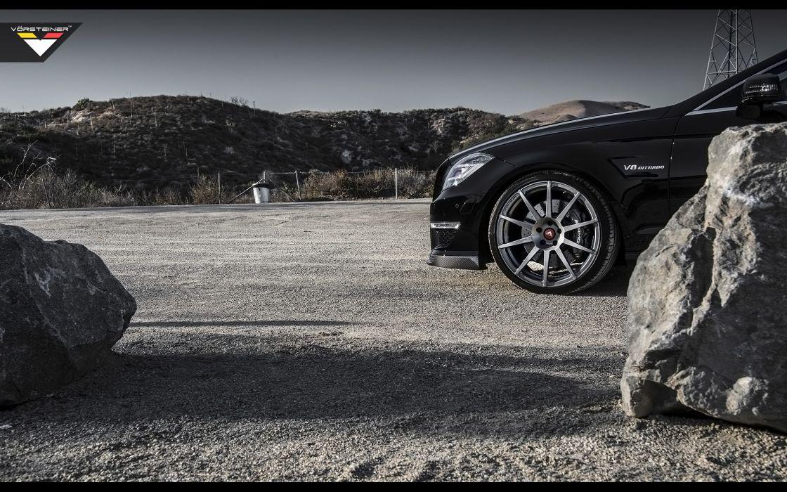 2014 Vorsteiner Mercedes Benz CLS63 AMG Sedan tuning luxury wheel   f wallpaper