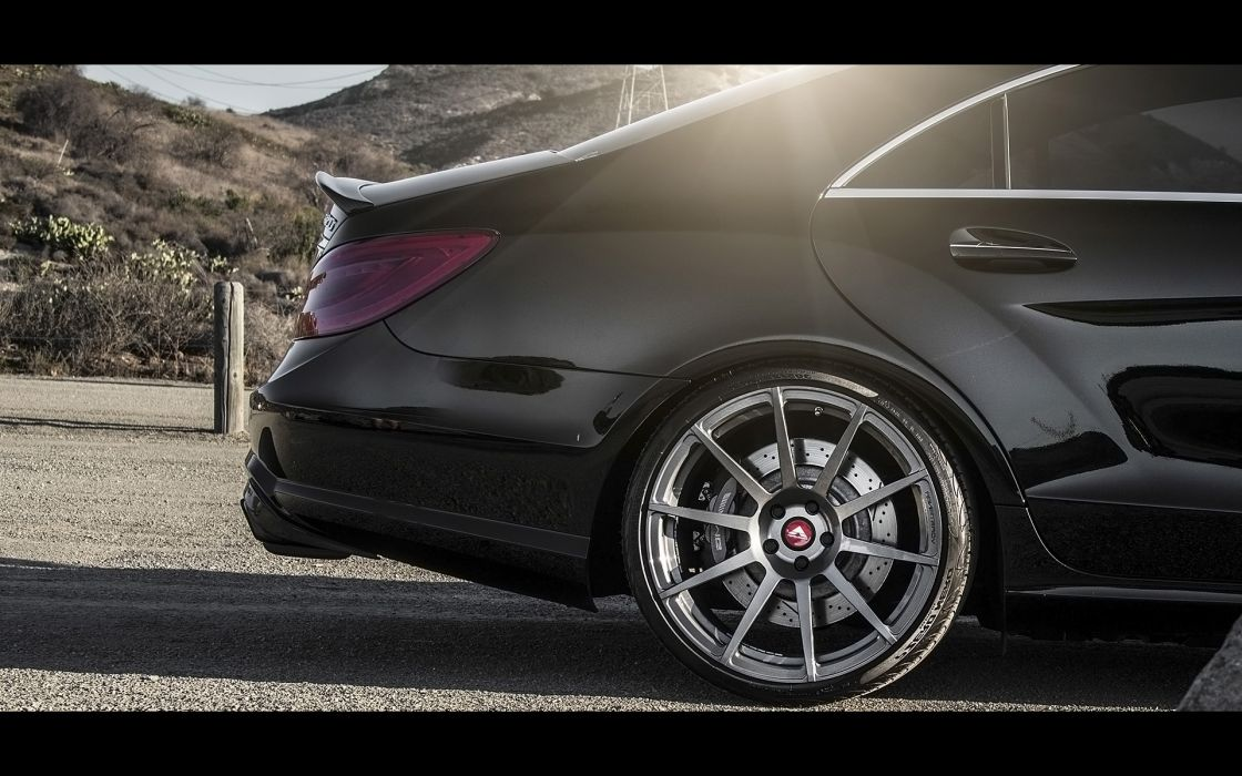 2014 Vorsteiner Mercedes Benz CLS63 AMG Sedan tuning luxury wheel    f wallpaper