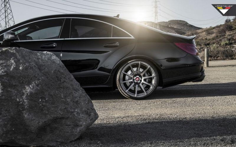 2014 Vorsteiner Mercedes Benz CLS63 AMG Sedan tuning luxury wheel g wallpaper