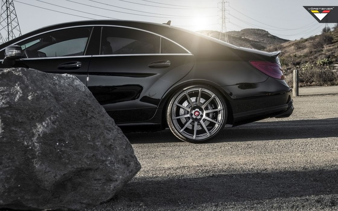 2014 Vorsteiner Mercedes Benz CLS63 AMG Sedan tuning luxury wheel      g wallpaper