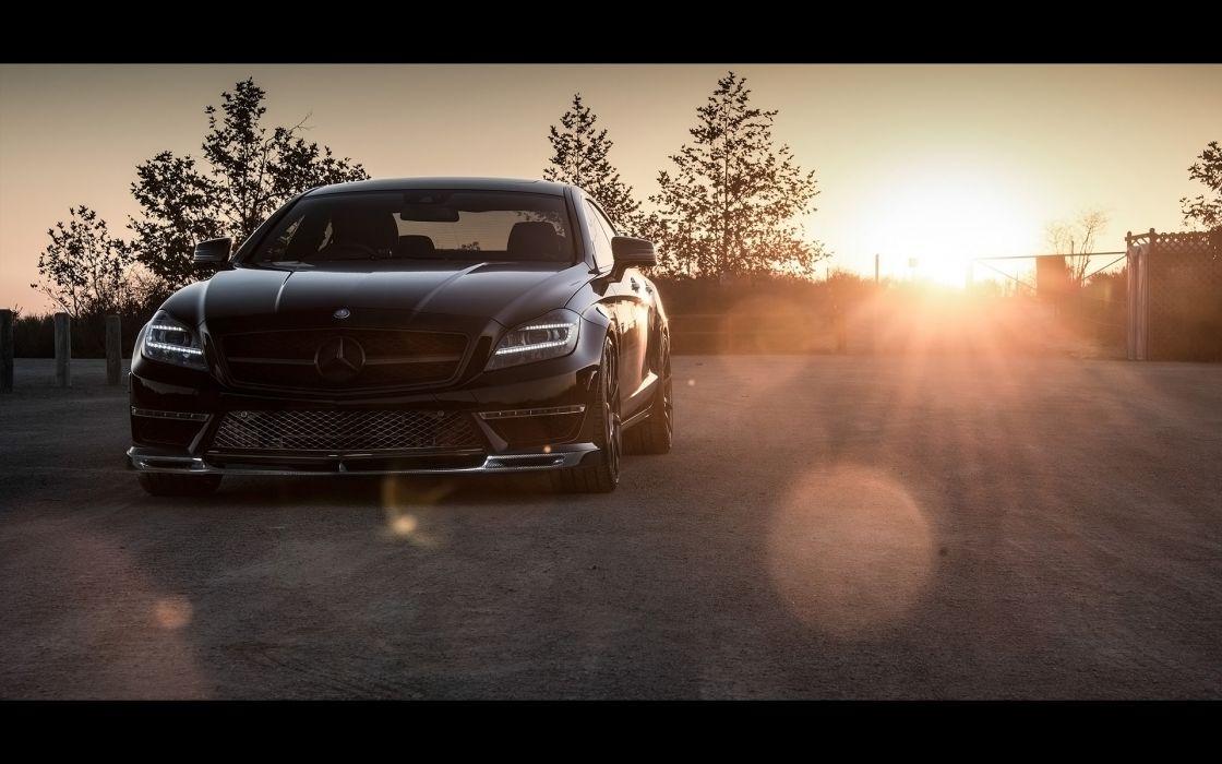 2014 Vorsteiner Mercedes Benz CLS63 AMG Sedan tuning luxury  t wallpaper