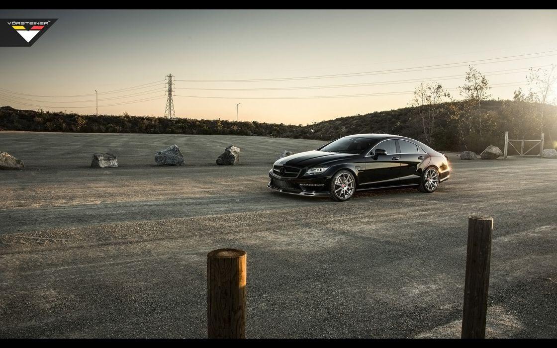 2014 Vorsteiner Mercedes Benz CLS63 AMG Sedan tuning luxury  fs wallpaper