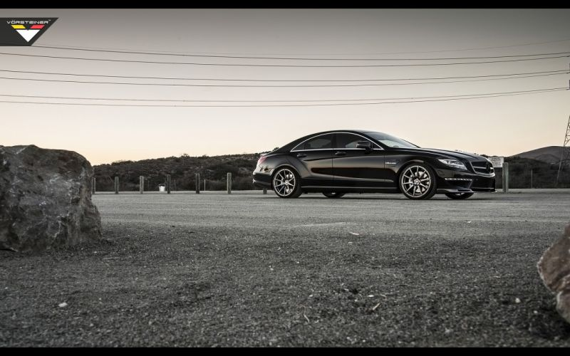 2014 Vorsteiner Mercedes Benz CLS63 AMG Sedan tuning luxury fa wallpaper