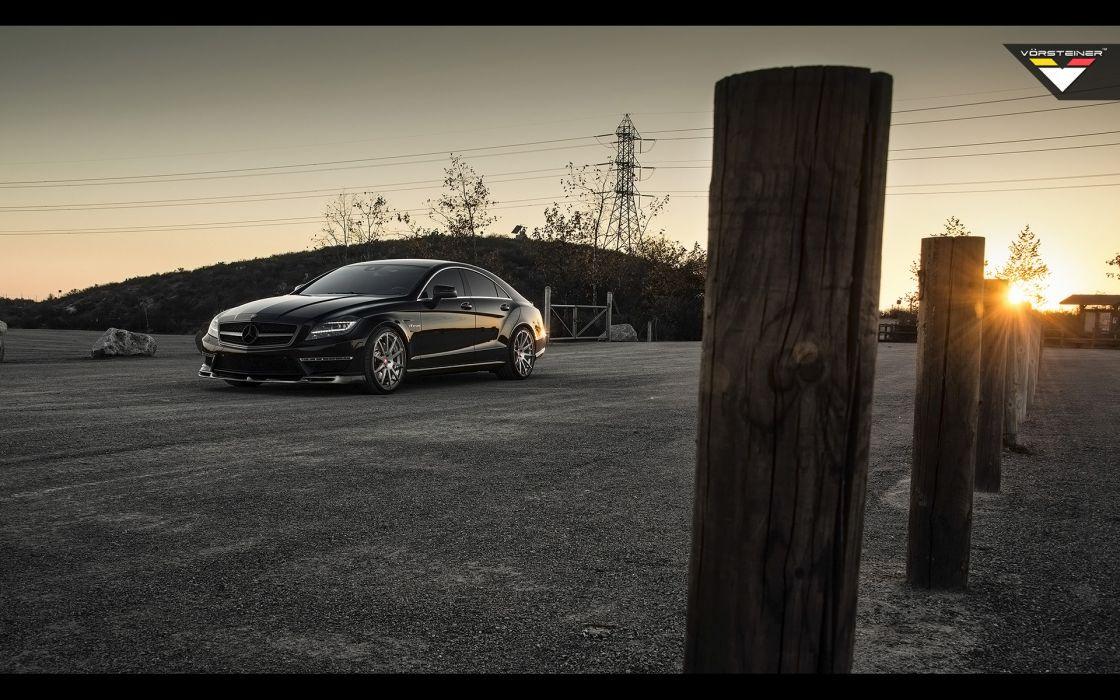 2014 Vorsteiner Mercedes Benz CLS63 AMG Sedan tuning luxury  f wallpaper