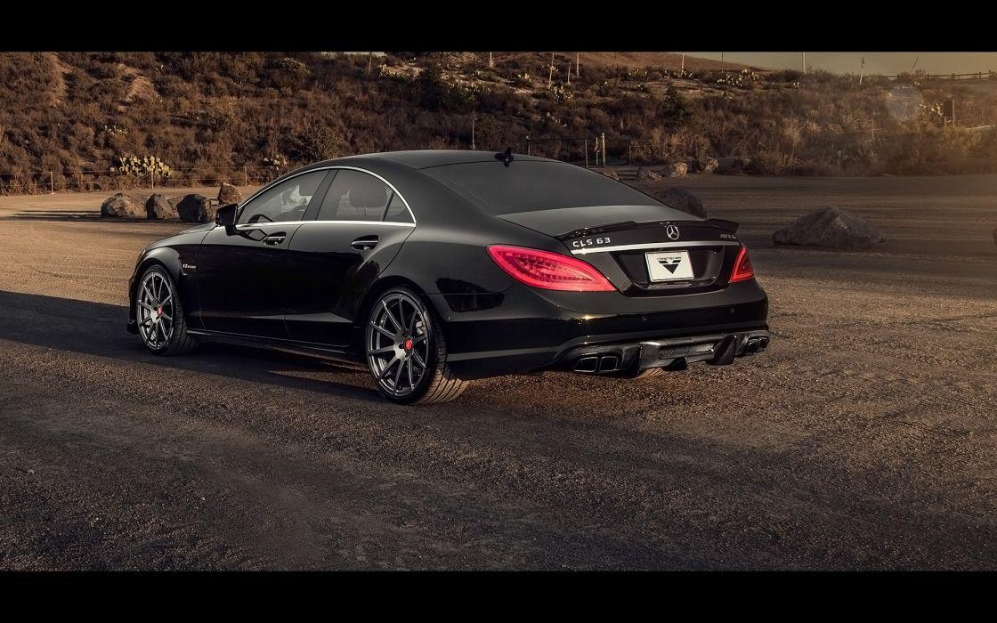 2014 Vorsteiner Mercedes Benz CLS63 AMG Sedan tuning luxury  e wallpaper