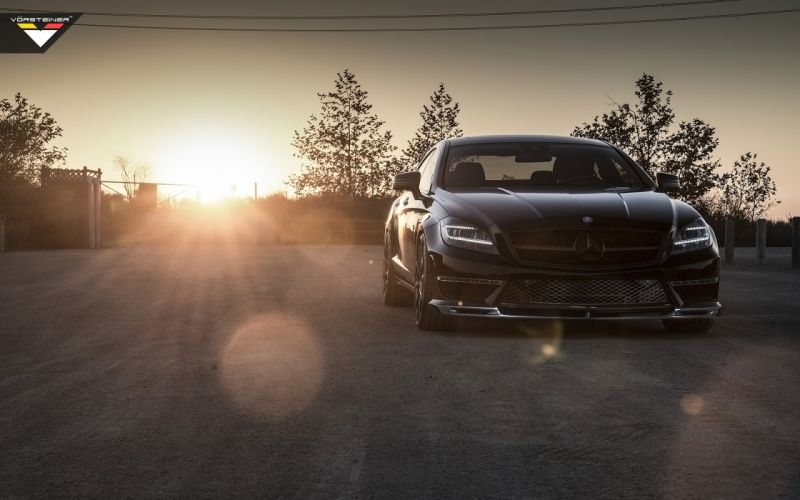 2014 Vorsteiner Mercedes Benz CLS63 AMG Sedan tuning luxury g wallpaper