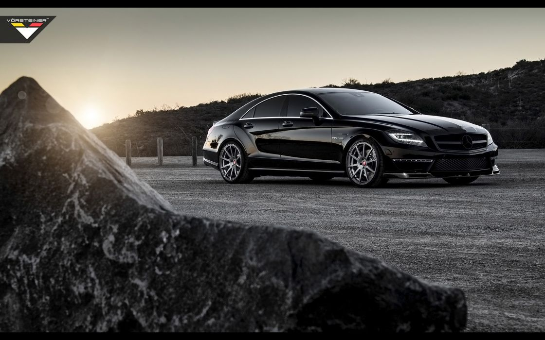 2014 Vorsteiner Mercedes Benz CLS63 AMG Sedan tuning luxury   fs wallpaper