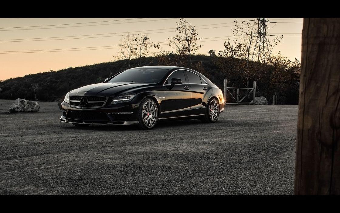 2014 Vorsteiner Mercedes Benz CLS63 AMG Sedan tuning luxury   ga wallpaper