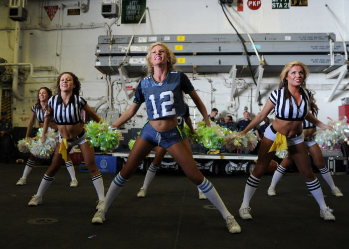 SEATTLE SEAHAWKS sea-gals cheerleader football nfl sexy babe g wallpaper