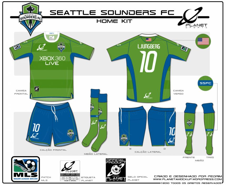 SEATTLE SOUNDERS soccer poster     g wallpaper