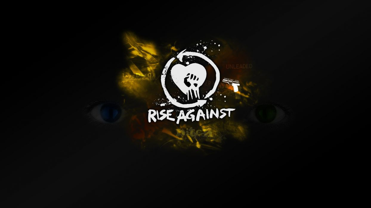 music Rise Against band wallpaper