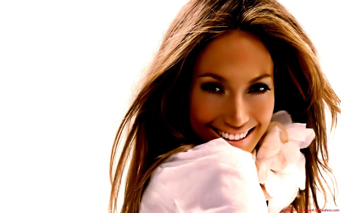 women Jennifer Lopez faces wallpaper